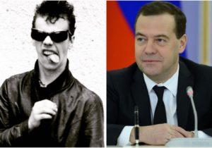 Медведев в молодости