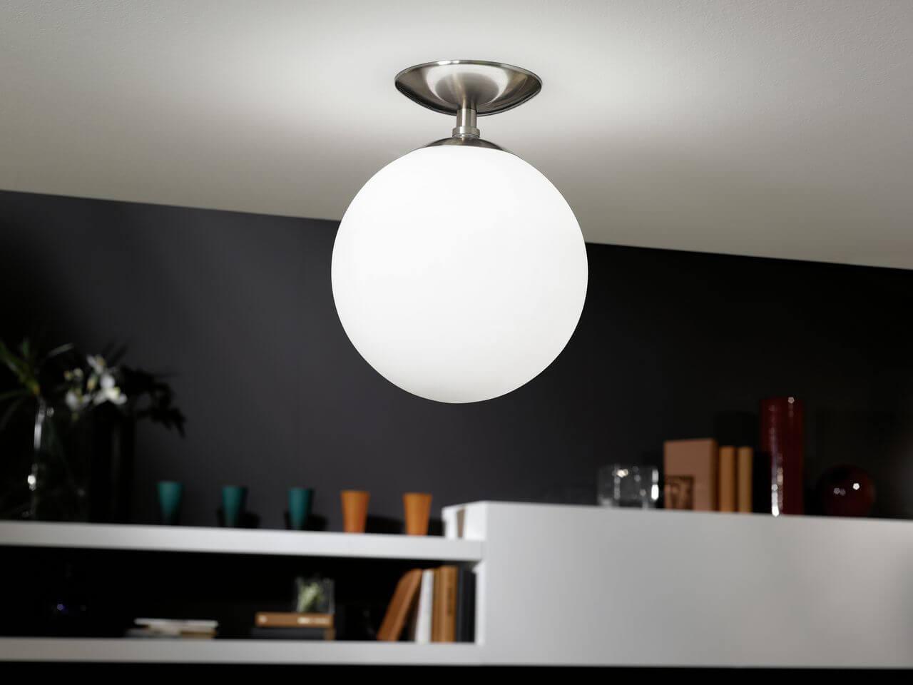 Светильники в форме шара